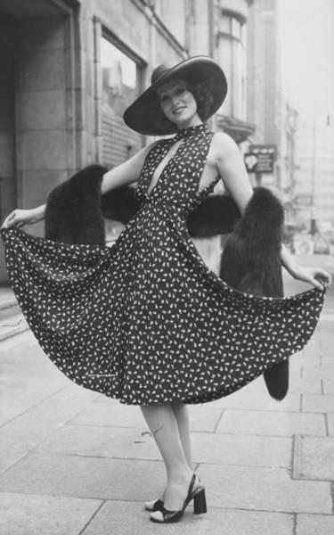 1974 Photograph - Summer Dior by Frank Barratt