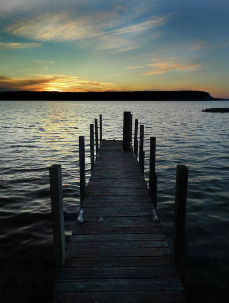Photograph - Summer Dock by David T Wilkinson
