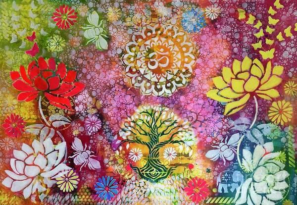 Mixed Media - Summer Dreams  by Corina Stupu Thomas