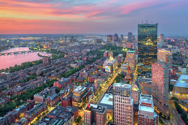 Photograph - Summer Evening In Boston by Kristen Wilkinson