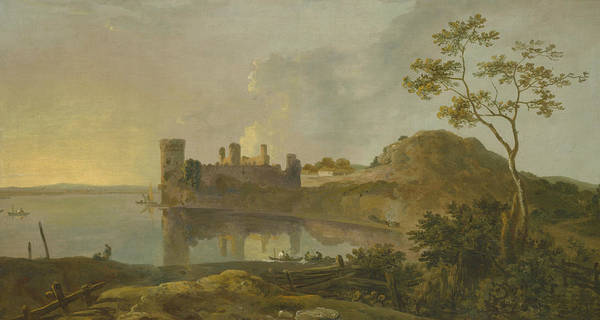 Painting - Summer Evening by Richard Wilson