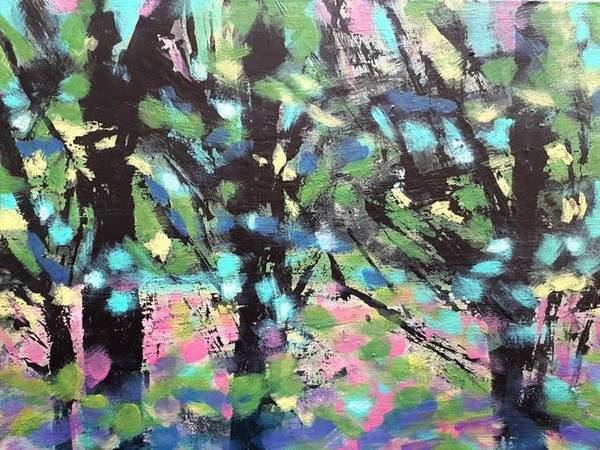 Painting - Summer Forest by Nikki Dalton