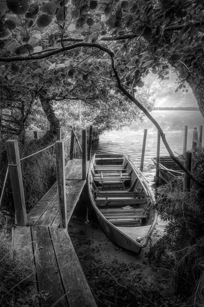 Wall Art - Photograph - Summer Hideaway In Black And White by Debra and Dave Vanderlaan