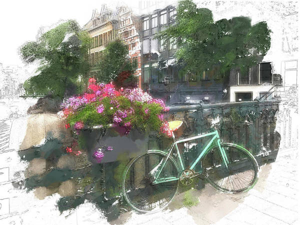 Photograph - Summer In Amsterdam by Jill Love