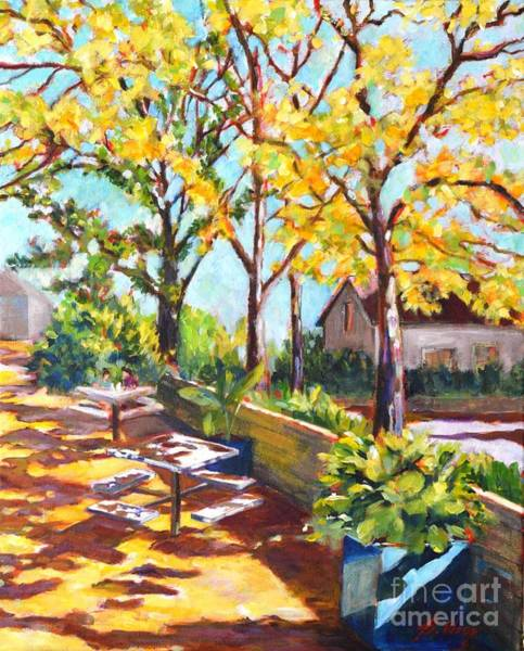 Painting - Summer In Edwards Garden, Toronto by Betty M M Wong
