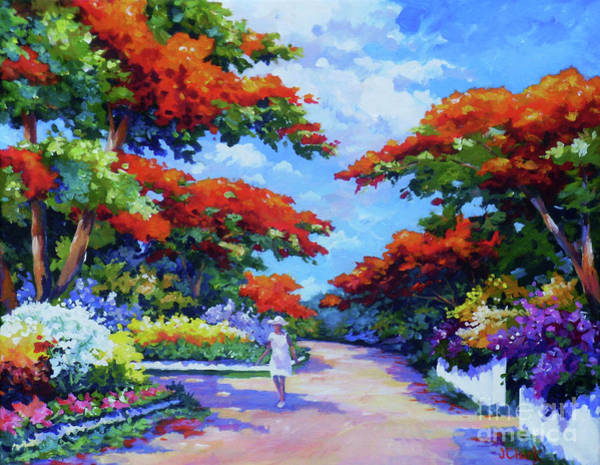 Brac Painting - Summer In Savannah by John Clark