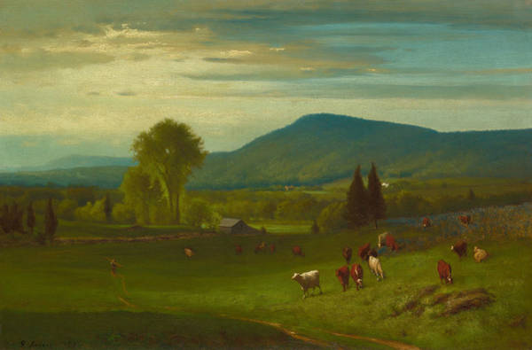 Wall Art - Painting - Summer In The Catskills by George Inness