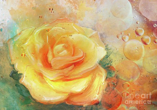 Abstract Flower Mixed Media - Summer by Jacky Gerritsen