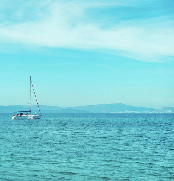 Photograph - Summer Joy In The Mediterranean I by Anne Leven