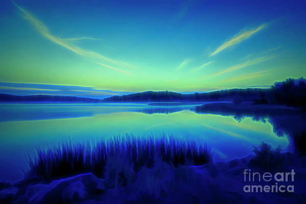 Wall Art - Digital Art - Summer Night by Veikko Suikkanen
