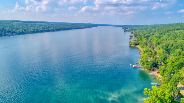 Photograph - Summer On Keuka Lake by Ants Drone Photography