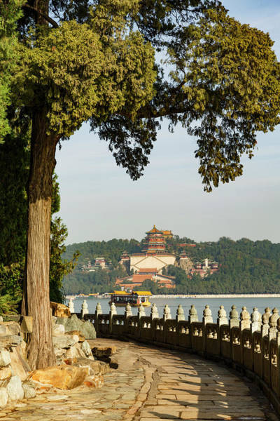 Wall Art - Photograph - Summer Palace Above Kunming Lake by Adam Jones