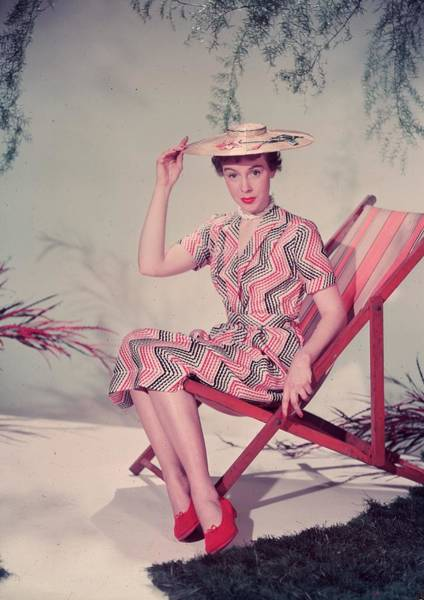 Straw Hat Photograph - Summer Pose by Chaloner Woods