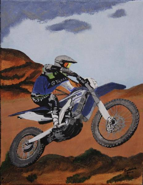 Painting - Summer Ride 2 by Terry Frederick