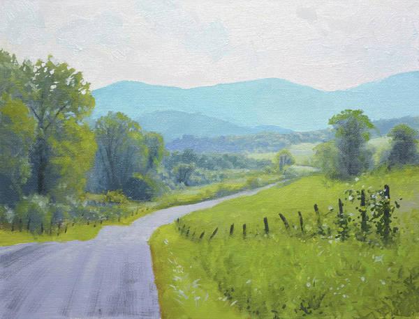 Wall Art - Painting - Summer Road by Armand Cabrera