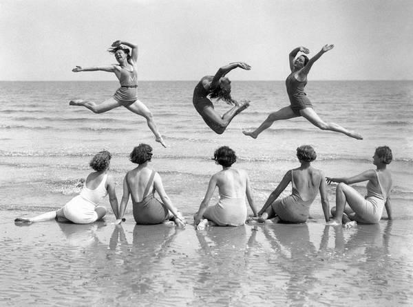 Dancing Water Photograph - Summer School by Reg Speller