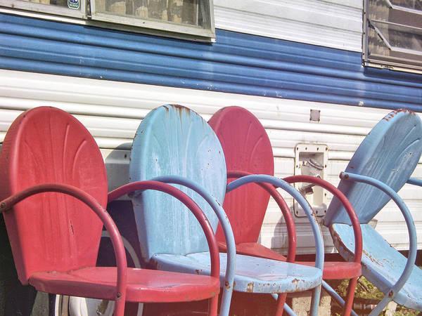 Photograph - Summer Seats by Jamart Photography