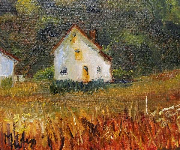 Painting - Summer Shack by Michael Helfen