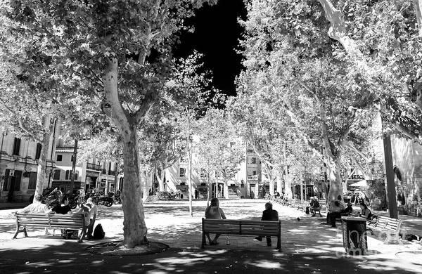 Photograph - Summer Shadows Avignon by John Rizzuto