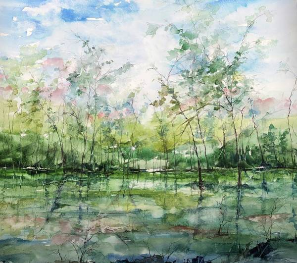 Painting - Summer Silence  by Robin Miller-Bookhout