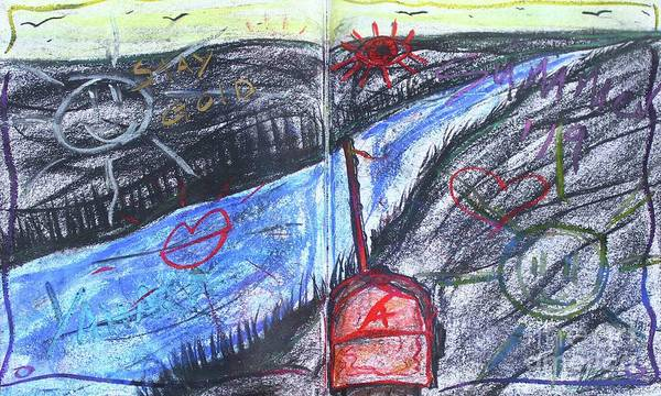 Pastel - Summer Sketch 2019 by Odalo Wasikhongo