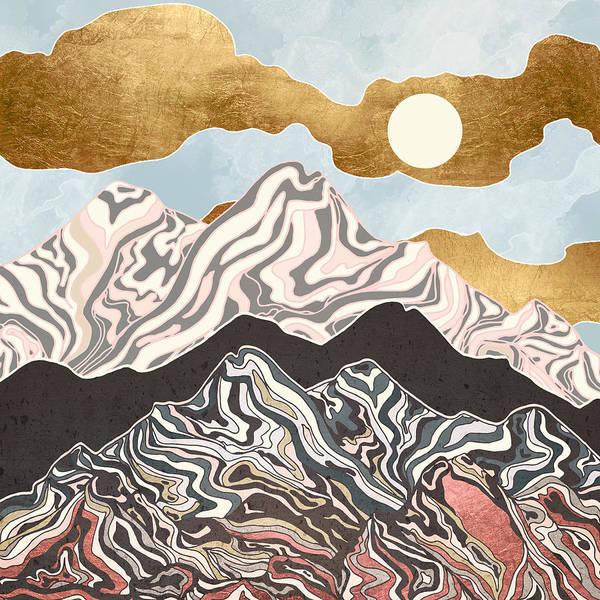Wall Art - Digital Art - Summer Sky by Spacefrog Designs