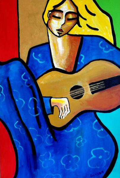 Painting - Summer Song by Stuart Glazer