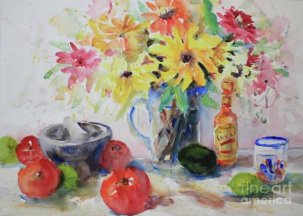 Wall Art - Painting - Summer Still Life by Marsha Reeves