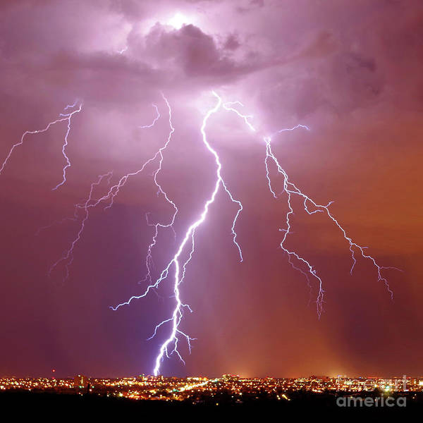 Wall Art - Photograph - Summer Storm In The City by Douglas Taylor