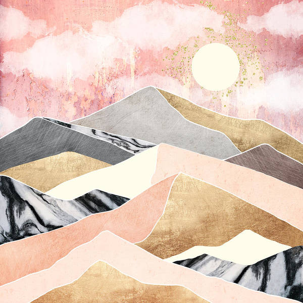 Wall Art - Digital Art - Summer Sun by Spacefrog Designs