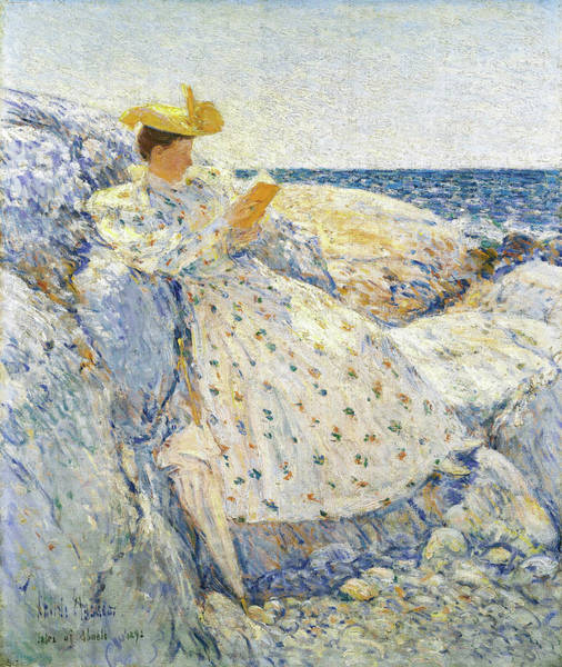 Wall Art - Painting - Summer Sunlight, Isles Of Shoals - Digital Remastered Edition by Frederick Childe Hassam