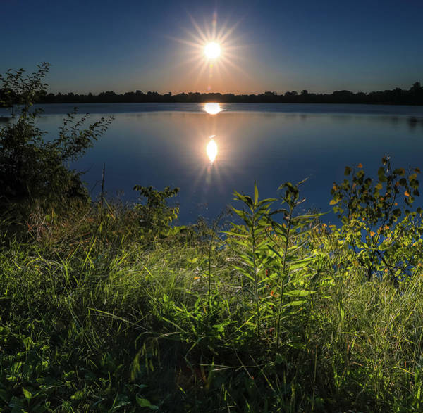 Photograph - Summer Sunrise Over Lima Lake by Dan Sproul