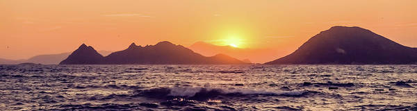 Photograph - Summer Sunset At The Mediterranean I by Anne Leven