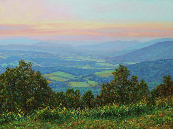 Wall Art - Painting - Summer Sunset by Bonnie Mason