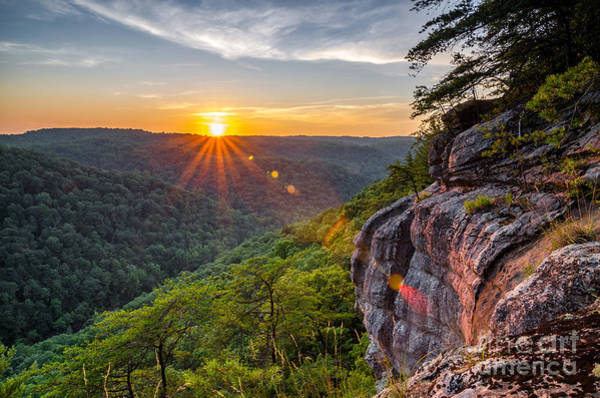 Wall Art - Photograph - Summer Sunset Over The Big South Fork by Anthony Heflin