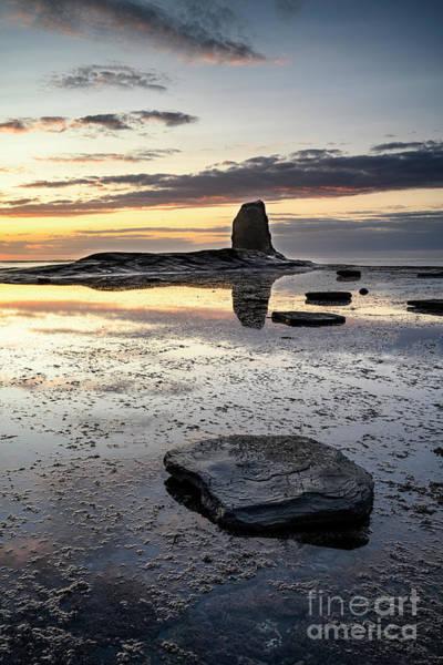 Wall Art - Photograph - Summer Sunset, Saltwick by Richard Burdon