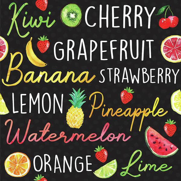 Pineapple Digital Art - Summer Sweetness Pattern II by Nd Art