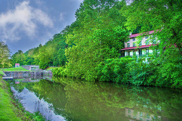 Wall Art - Photograph - Summer - The Schuylkill Canal - Mont Clare by Bill Cannon