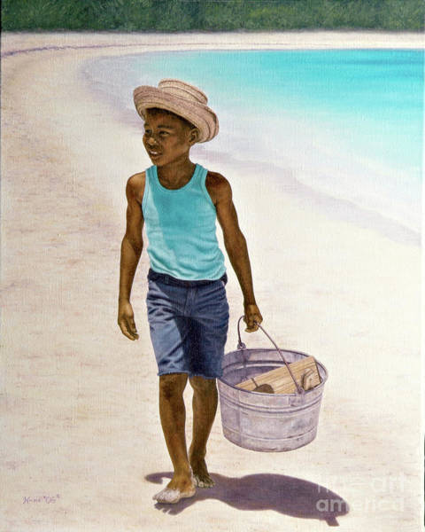 Painting - Summer Time by Nicole Minnis