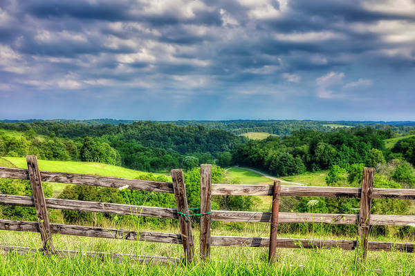 Grassland Photograph - Summer Vista by Tom Mc Nemar