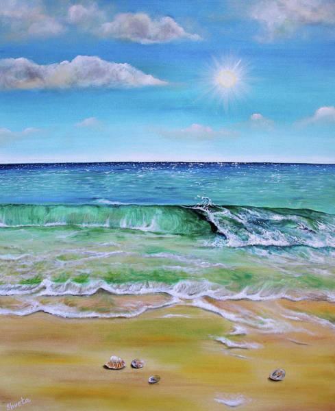 Wall Art - Painting - Summer Waves by Shveta Saxena