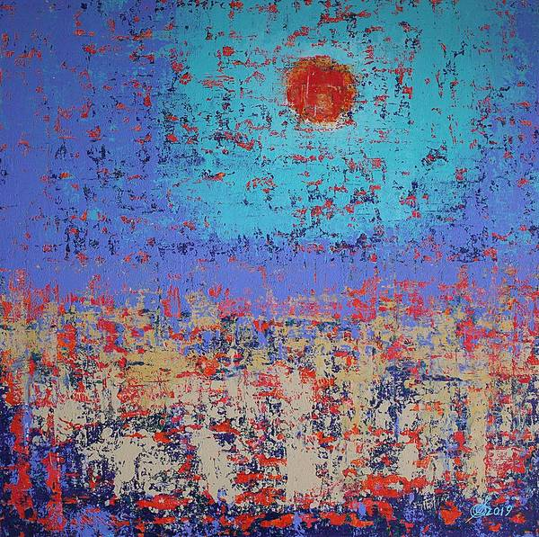 Painting - Summertide Original Painting by Sol Luckman
