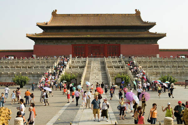 Forbidden City Photograph - Summertime Crowds, Forbidden City by Lonely Planet