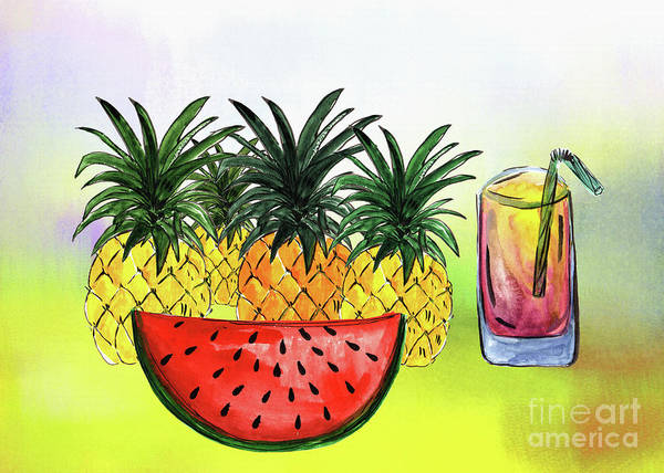Wall Art - Photograph - Summertime Fruit By Kaye Menner by Kaye Menner