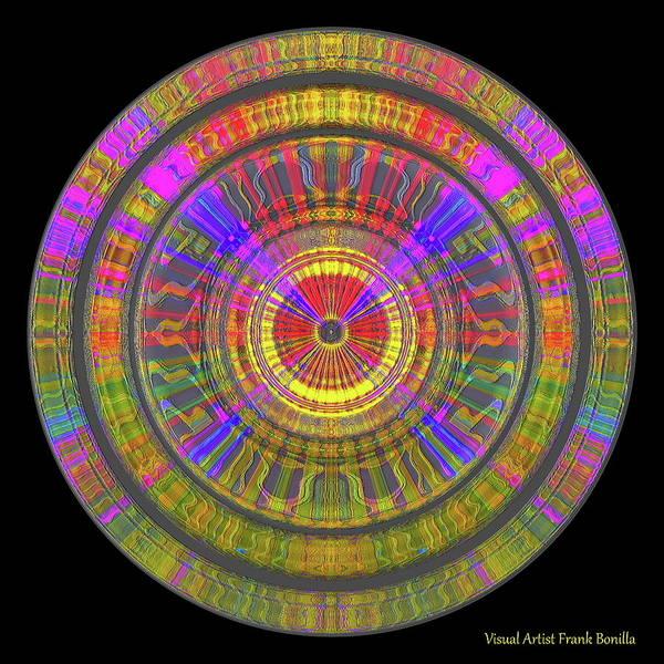 Digital Art - Sun 02112019 by Visual Artist Frank Bonilla