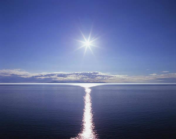 Wellington Photograph - Sun And Calm Sea by James Osmond