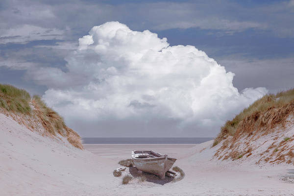Photograph - Sun Beached In The Dunes by Debra and Dave Vanderlaan