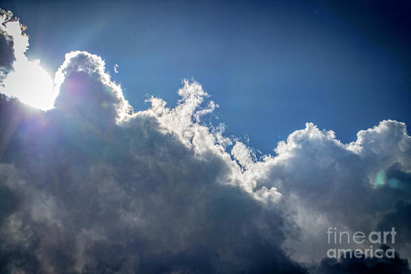 Wall Art - Photograph - Sun Behind Clouds 3233t by Doug Berry
