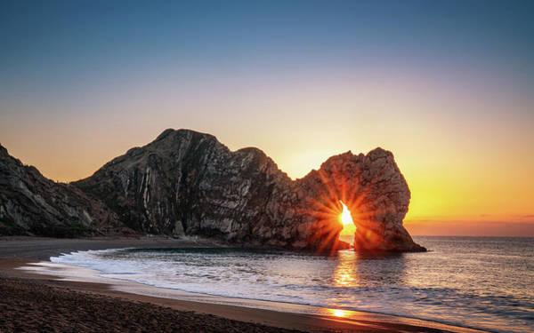 Photograph - Sun Bursting Through by Framing Places