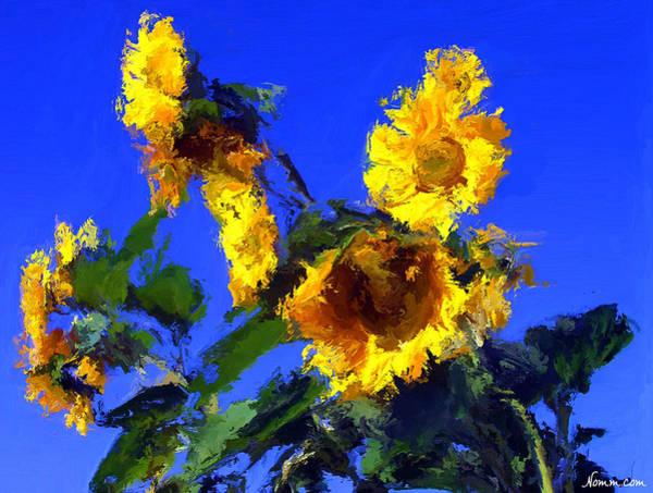 Digital Art - Sun Followers by Rein Nomm